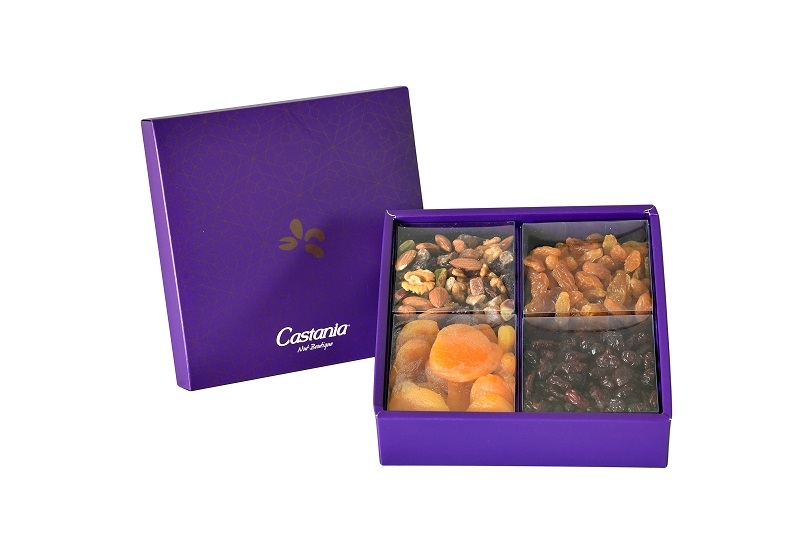 Small Dried Fruit & Raw Nuts Gift Box