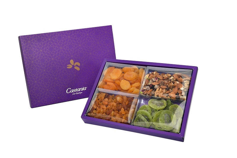 Large Dried Fruit & Raw Nuts Gift Box