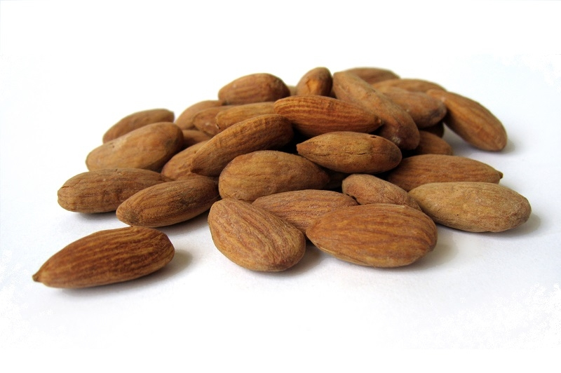 Almonds - Half Salted (650g/Tin)