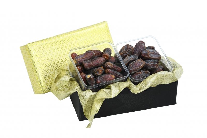 Deluxe Date Songket Gift Box