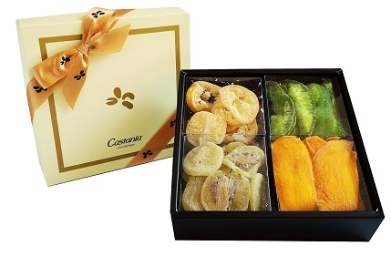 Assorted Dried Fruit In Pastel Box