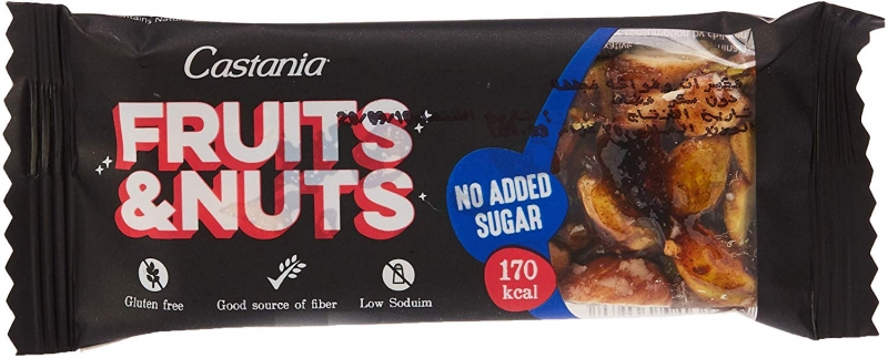Fruit & Nuts Bar No Added Sugar