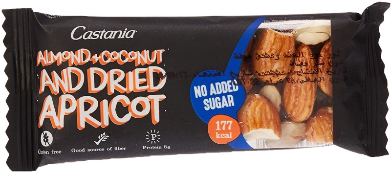 Almond Coconut Bar No Added Sugar