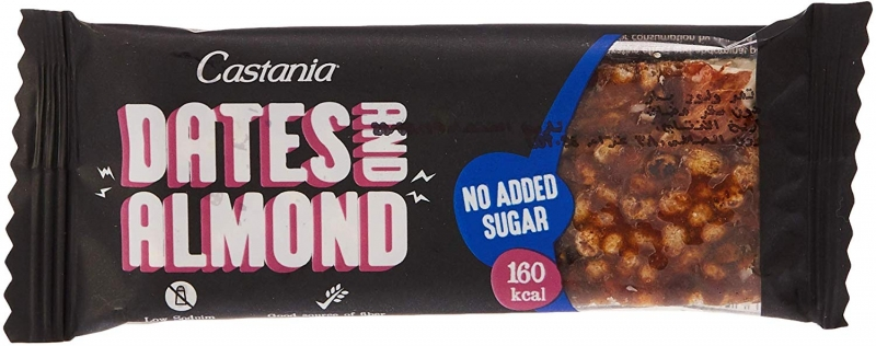 Dates & Almond Bar No Added Sugar